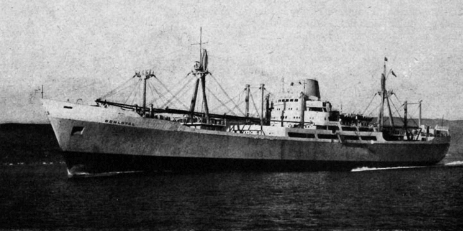 Ben Line Ship Image Fast Cargo Liner Benloyal Courtesy Gracesguides