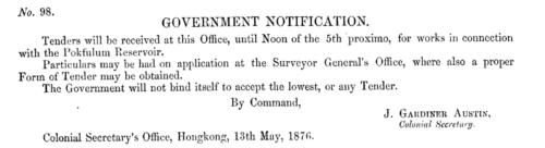 Notice 1876