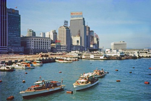 Walla Walla Hong Kong Central District Blake Pier Walla Wallas & Work Boats 1997[4295] IDJ