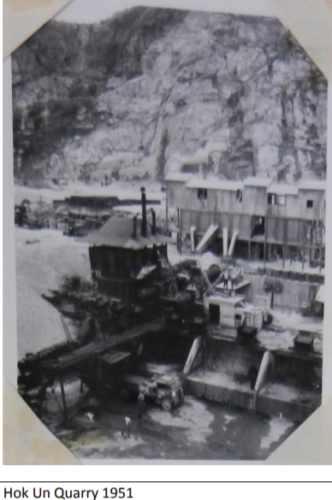 Quarrying In Hk Since World War Two Lord Wilson Heritage Trust Photo 3 Hok Un Quarry