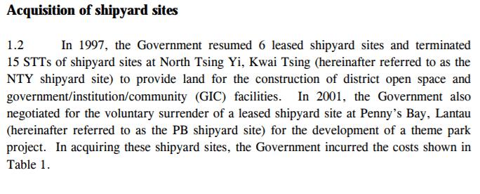 Tsing Yi Shipyards Clearance Report Image 4