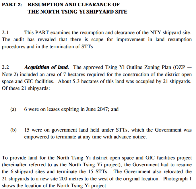 Tsing Yi Shipyards Clearance Report Image 7