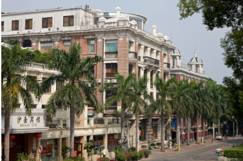 Arnhold Karberg Building, Butterfield & Swire Building To Rear, Oct 2008, South Street, Shamian Island, Guangzhou Nick Kitto