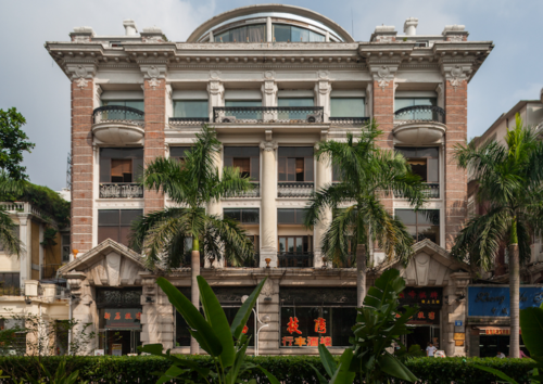 Arnhold Karberg Building, Straigfht On, South Street, Shamian Island, Guangzhou Nick Kitto