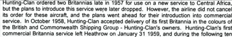 Hunting Clan Air Transport Detail Extract From Article IDJ