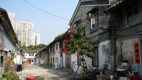 Tsang Tai Uk Inside Walled Village Shatin Image Wing + Wikipedia
