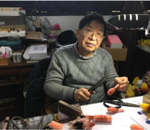 Velvet Flowers Ronghua Hao Shuxian, 63, SCMP 23.12.17 Courtesy Handout