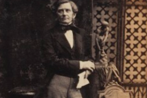 Rowland MacDonald Stephenson Detail Image 1861 National Portrait Gallery