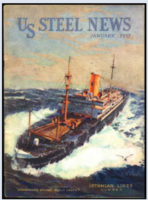Isthmian Line US Steel News Mag Jan 1937 Isthmian Website