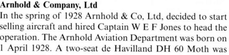 Arnhold Aviation Department Detail B From A History Of Chinese Aviation, Lennart Andersson, IDJ