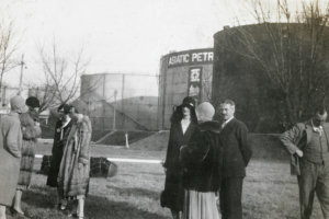 Asiatic Petroleum Co Image Of Storage Petroleum Tanks Shanghai 1930s, P 88 Vaudine;s Arnholds Book
