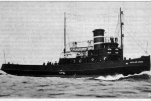 Hall, Russell & Company, 1933 The Oil Electric Tug Acklam Cross Grace's Guides