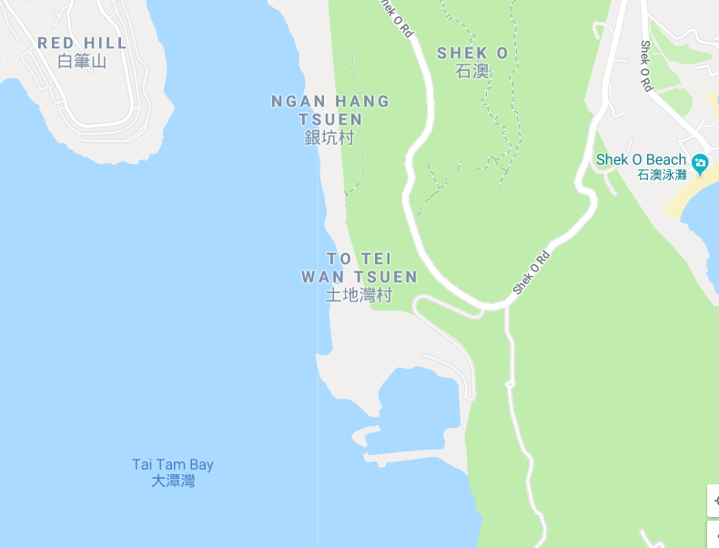 To Tei Wan Quarry Google Map Detail