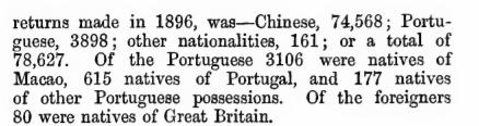 European Settlements E Macau Vaudine England