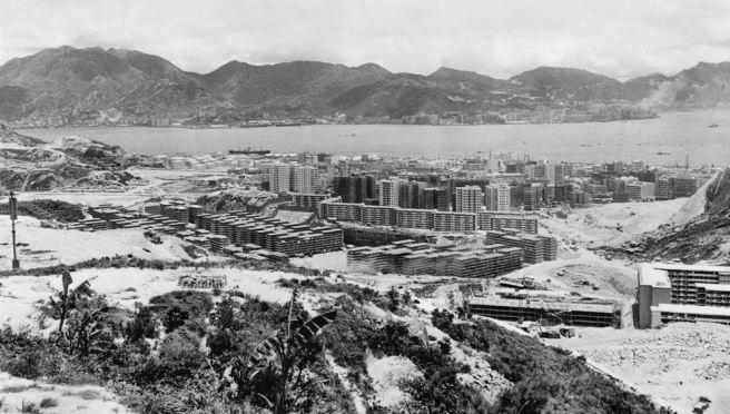 Kwun Tong Development 1964 HK Memory Courtesy Tim Ko