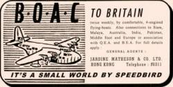 10 BOAC To Britain