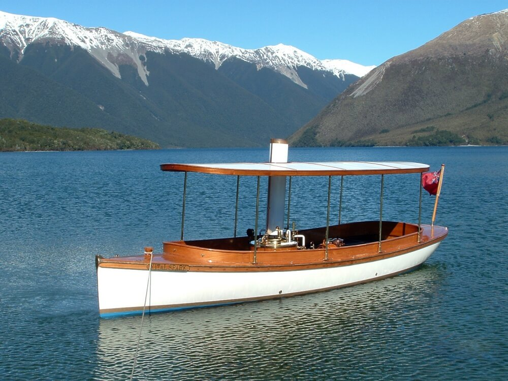 Vital Spark -image New Zealand Steamboat Association website