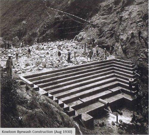 Byewash Dam Construction