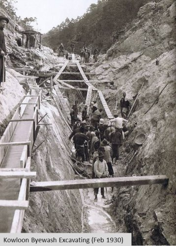 Byewash Dam Excavation