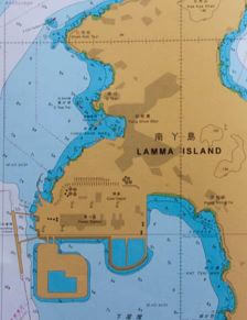 Lamma North Marine Map snipped extract Andy Cattrell