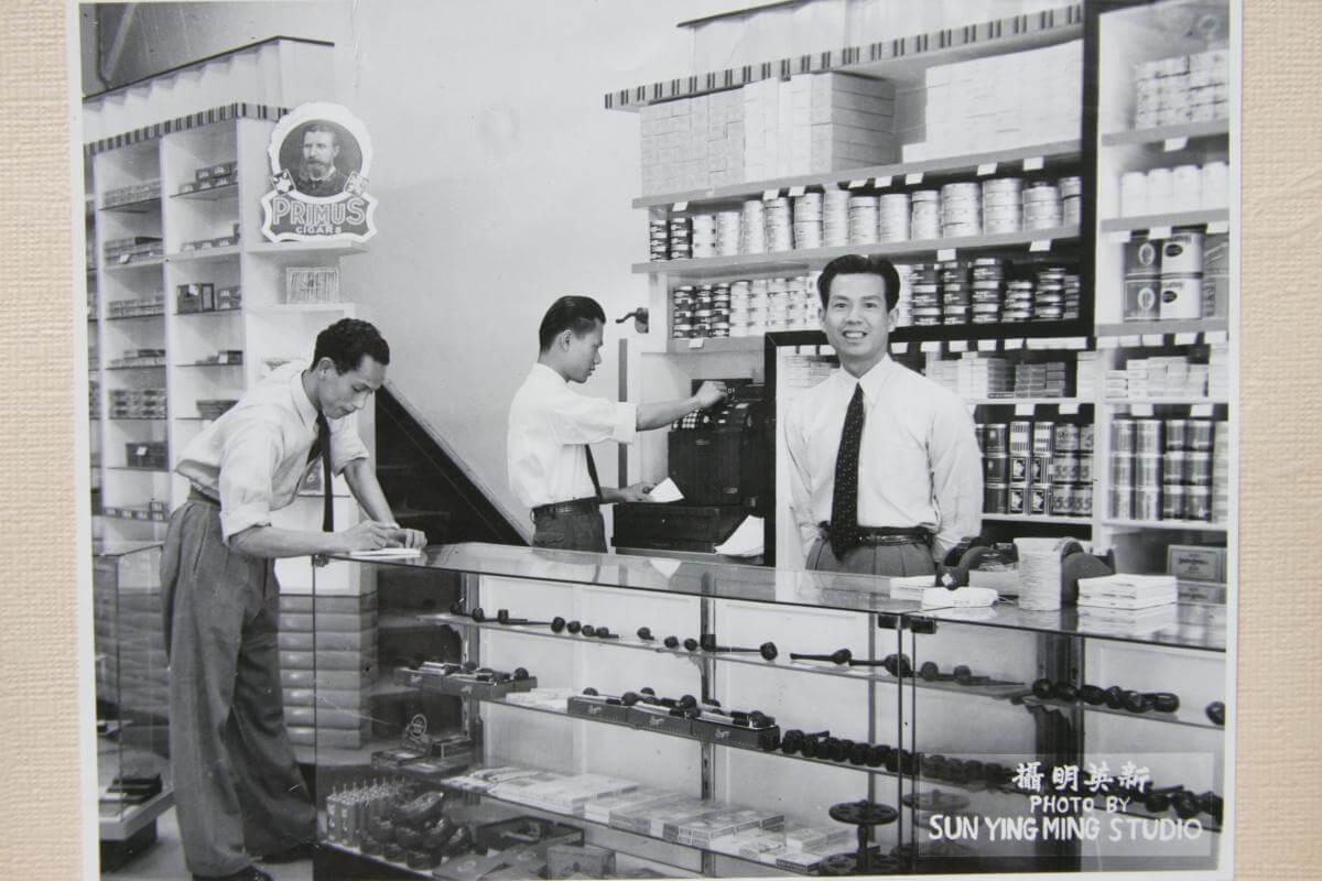 Orient Tobacco Manufactury HK shop Edward Schneider