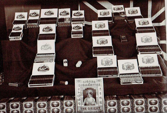 Orient Tobacco Manufactury  boxes Edward Schneider