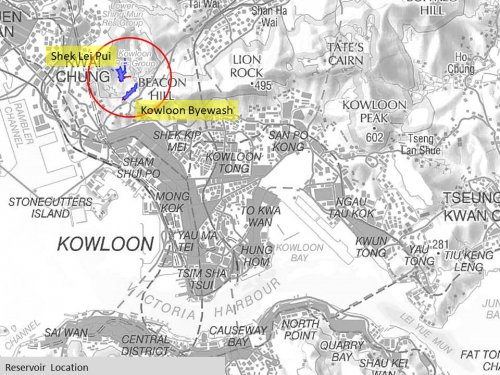 Reservoir Locations