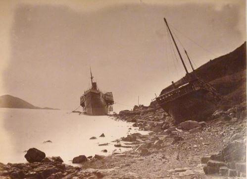 SS Alaska 1874 Aberdeen Dock from gwulo
