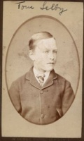Thomas Selby photo when young from Robin Selby