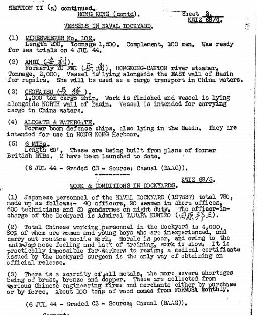 BAAG Report KWIZ #68 B1