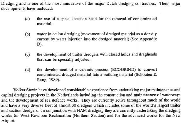 Dredging Netherlands e2 EO Report No. 17 Sept 1992