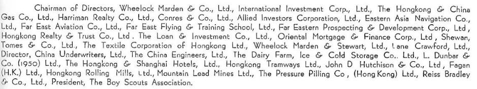 G E Marden Directorships From IDJ