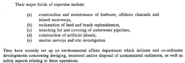 Dredging Netherlands e3 EO Report No. 17 Sept 1992