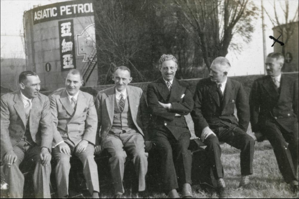 Asiatic Petroleum Company Staff Photo Shanghai 1930s Historical Photographs Of China, University Of Bristol