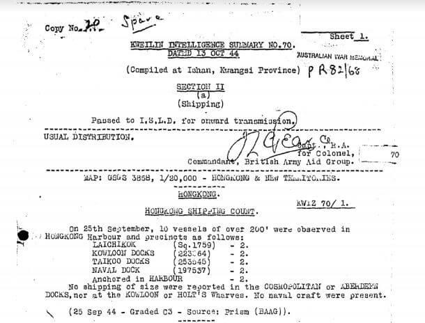 BAAG Report KWIZ #70 A