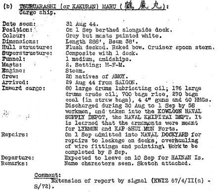 BAAG Report KWIZ #70 Appendix 2