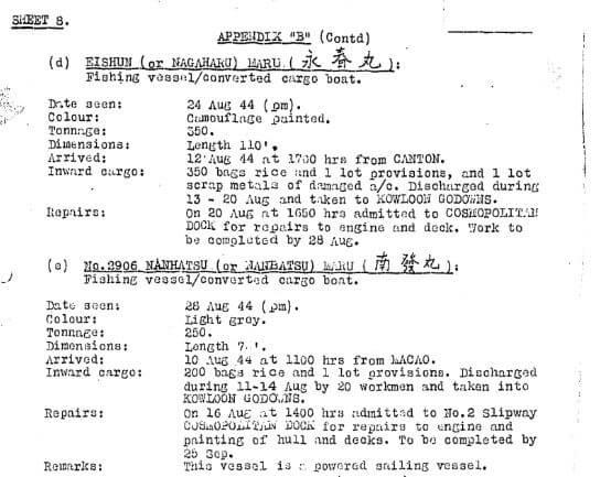 BAAG Report KWIZ #70 Appendix M