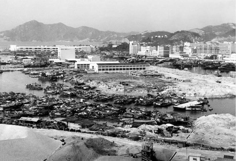 Cheung Sha Wan reclamation photo 1965 HK Memory