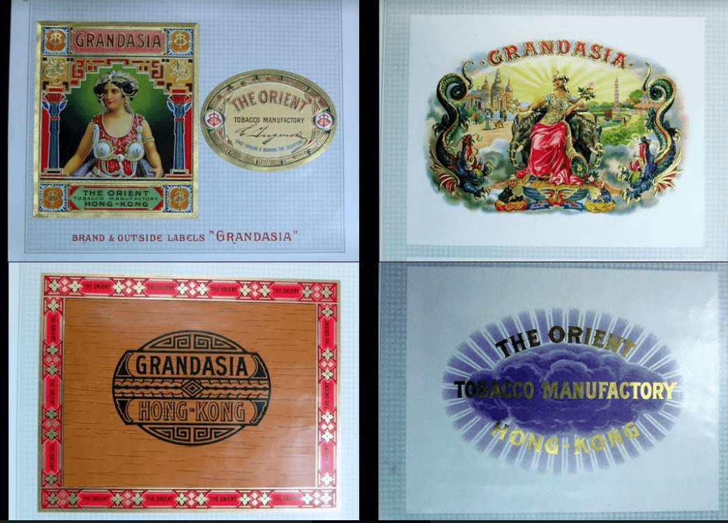 Orient Tobacco Manufactory Cigar Products Colored Lithographs A From Dheeraj Khiytani