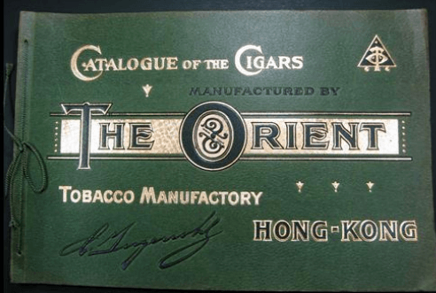 Orient Tobacco Manufactory Cigar Products Colored Lithographs B Company Catalogue From Dheeraj Khiytani