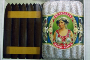 Orient Tobacco Manufactory Cigar Products Colored Lithographs D2 Grandasia Cigars From Dheeraj Khiytani