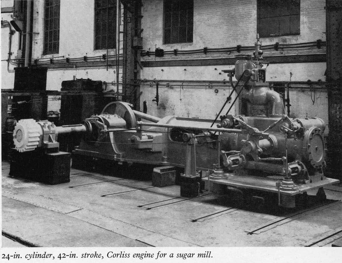 Taikoo Docks Fifty Years of Shipbuilding 1954 General Engineering f Corliss Engine for sugar mill