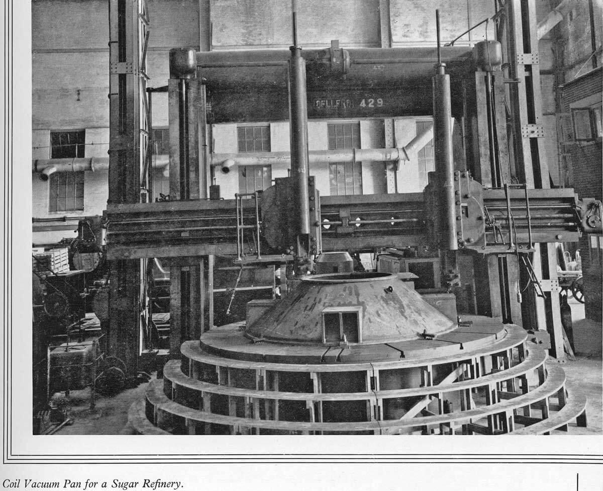 Taikoo Docks Fifty Years of Shipbuilding 1954 General Engineering h Sugar Refinery coil vacuum pan
