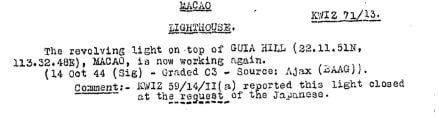 BAAG Report KWIZ #71D2
